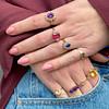 vintage ringen goud edelstenen sieradenmeisje