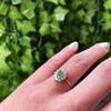 ring goud met smaragd