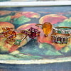 gouden vintage ringen met gekleurde steen