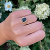 onyx signet ring goud dames zegelring