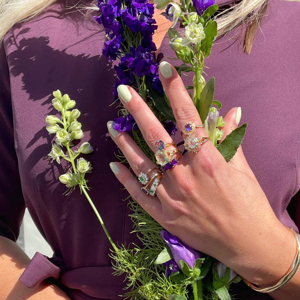 vintage sieraden goud van sieradenmeisje