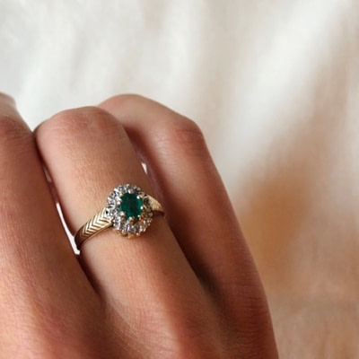 vintage ringen goud van sieradenmeisje