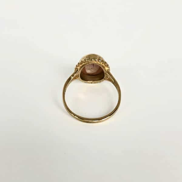 gouden camee ring