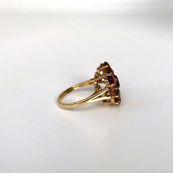 citrien bloem ring
