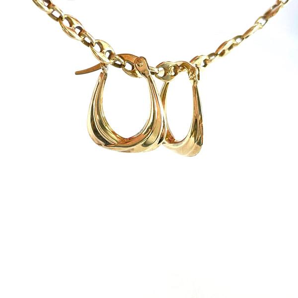 gouden oorringetjes vintage oorbellen