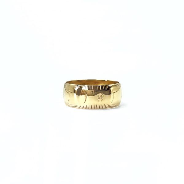 vintage_band_ring_goud_gegraveerd_maan_zon
