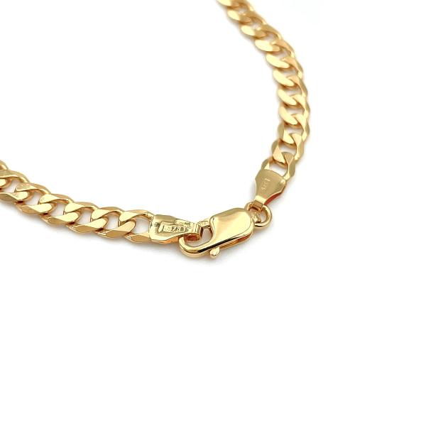 gouden schakelarmband dames gourmet 9k goud