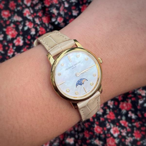 Horloge Frederique Constant Slimline Moonphase 206MPWD1S5