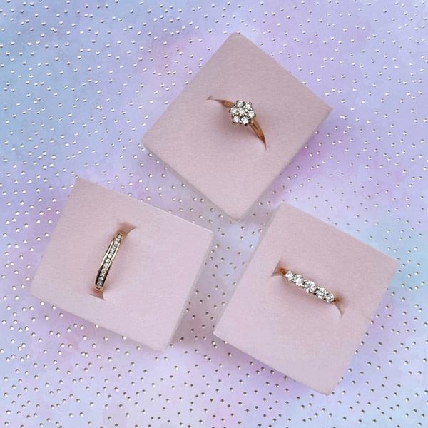 gouden ringen met diamant tweedehands