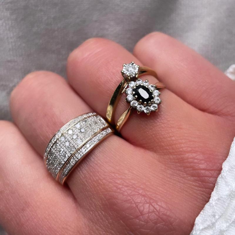 vintage ringen met diamant