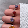 vintage ringen amethist en diamant